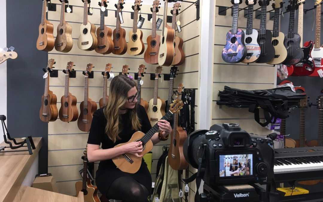 How to: nakup ukulele