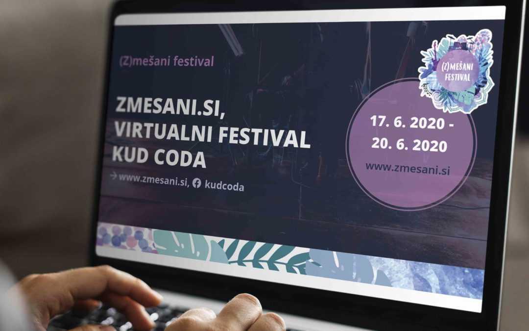Tretji (Z)mešani festival prvič na spletu!