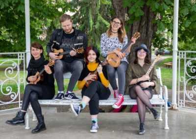 nostress ukestra zmešani festival ukefest 2021 glasbena šola kud coda maribor